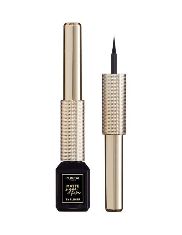 L'Oréal - Matte Signature Eyeliner - 01 Ink Black