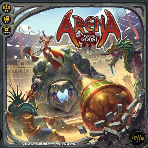 Arena: For the Gods! (English)