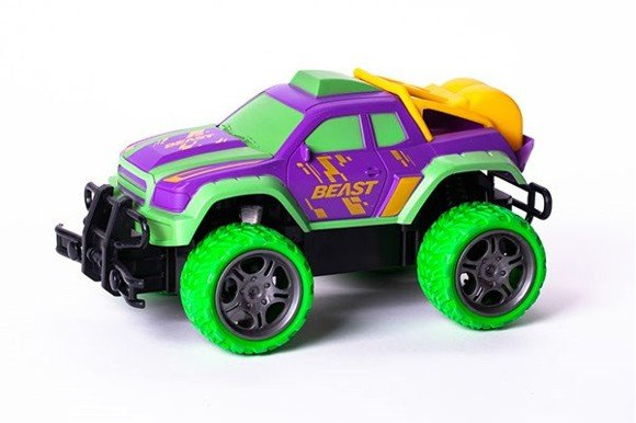 TECHTOYS - R/C Gallop Beast - Rapidly 1:18 - Purple/Green (534450)