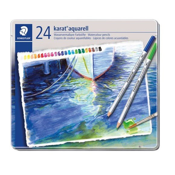 Staedtler - Karat aquarell watercolour pencil, 24 pcs