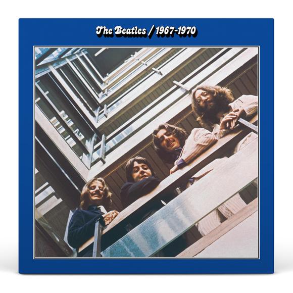 The Beatles 1967 - 1970 (The Blue Album) Vinyl