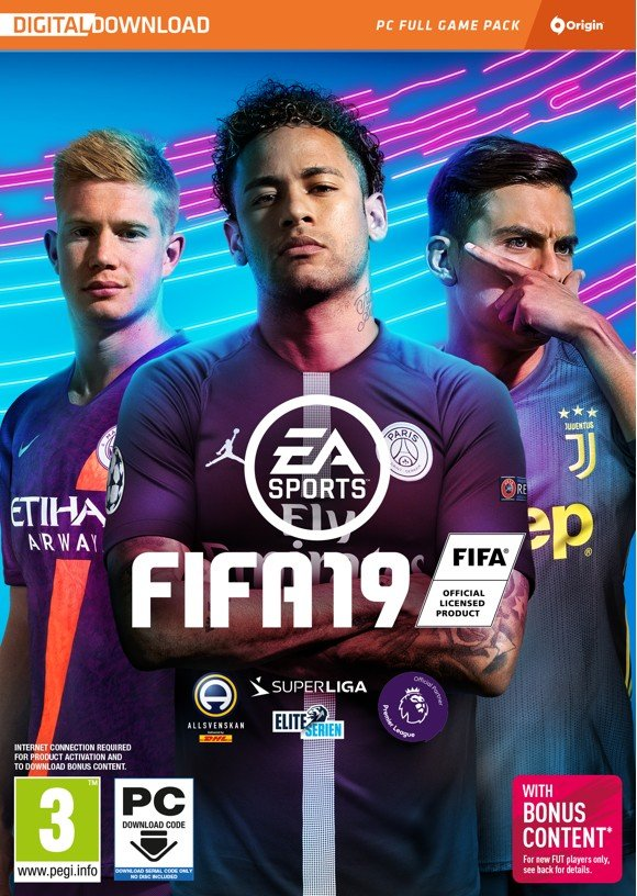FIFA 19 (Code via Email) (Nordic)