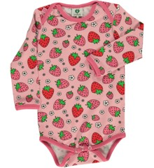 Småfolk - Body w. Strawberry Print