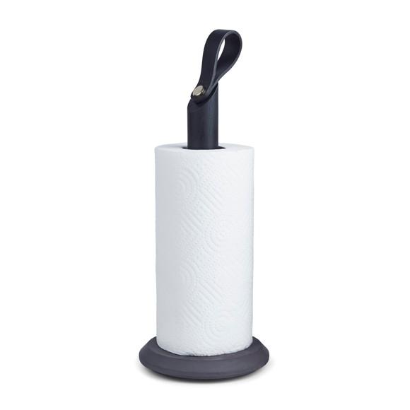Gejst - Grab Kitchen Roll Holder - Black/Oak (00302)