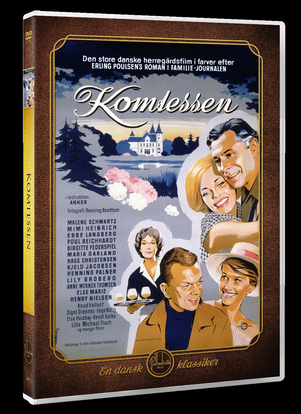 Komtessen (Malene Schwartz) - DVD