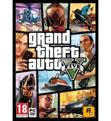 Grand Theft Auto V (GTA 5) (Code via email)