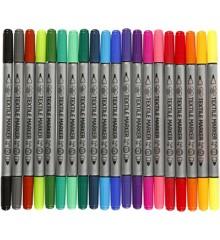 Textile Markers - 20 pcs (34817)