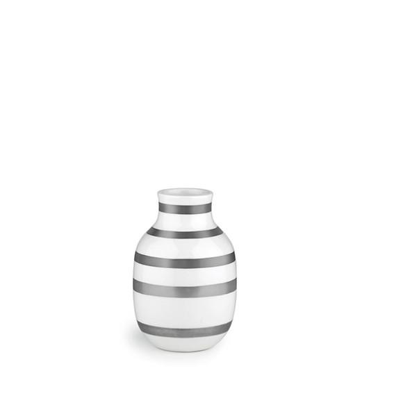Kähler - Omaggio Vase Sølv - Small