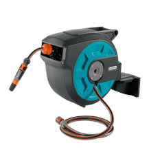 GARDENA Wall-mounted Hose Reel 15 Roll-up automatic