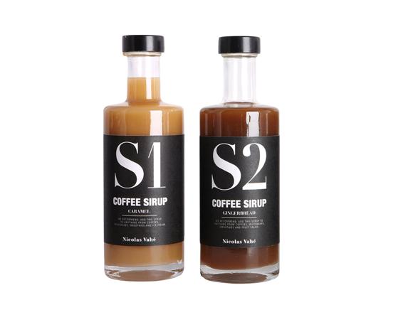 Nicolas Vahé - Kaffesirup - Honningkage + Kaffesirup - Karamel