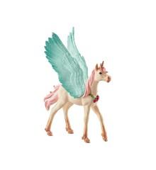 Schleich - Bayala - Decorated unicorn Pegasus, foal (70575)