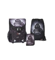 LEGO - EASY Skoletaske sæt (3 dele) - Star Wars - Darth Vader