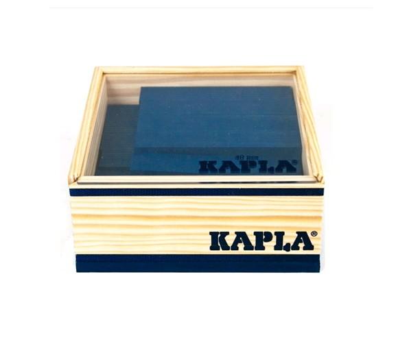 Kapla - Blue bricks - 40 pc