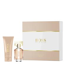 Hugo Boss - The Scent For Her EDP 100 ml+ Bodylotion 100 ml - Gavesæt