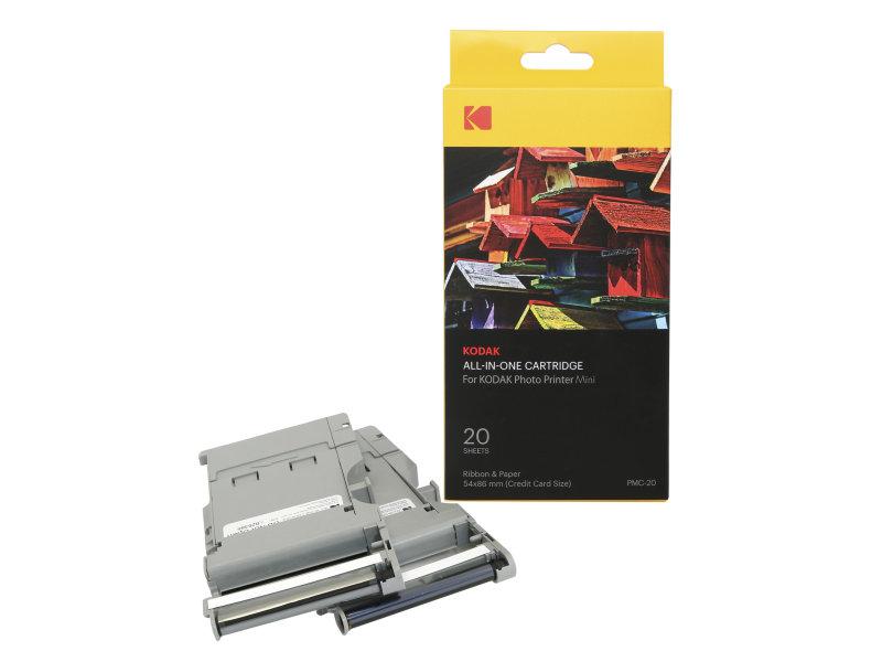 Kodak - Kassette Til Minishot & Mini Printer 20-Pakke