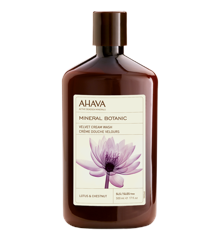 AHAVA - Mineral Body Cream Wash - Lotus & Chestnut 500 ml