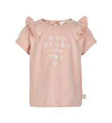Creamie - T-Shirt w. Frill