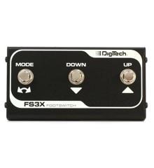 Digitech - FS3X - 3- Footswitch Til Digitech Effekt Pedaler