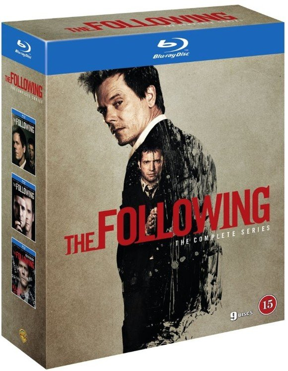 The Following - Den Komplette Serie (Blu-Ray)