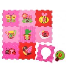 Magni - Legegulv, 18 dele - Pink