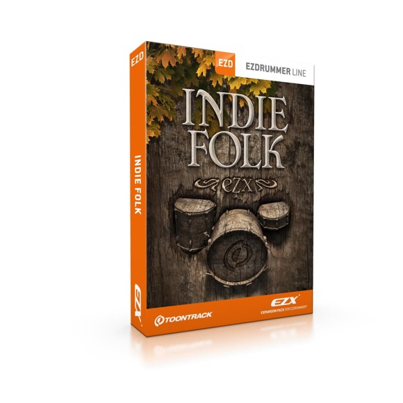 Toontrack - EZX Indie Folk - Expansion Pack For EZdrummer (DOWNLOAD)