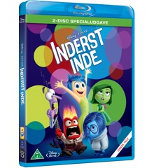 Disneys Inside Out / Inderst Inde - 2-disc specialudgave (Blu-Ray)
