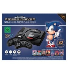 Sega Mega Drive Flashback HD with Wireless Controllers