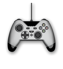 WX4 Wired Controller Silver for Switch, PS3 and PC