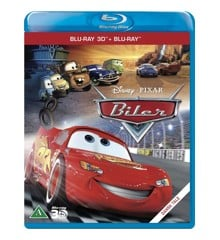 Disneys Cars/Biler (3D Blu-Ray)