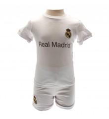 Real Madrid - T-shirt og Shorts Sæt - 18-23 mdr