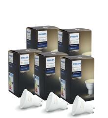 Philips Hue - 5XGU10 - White Ambiance - Bundle