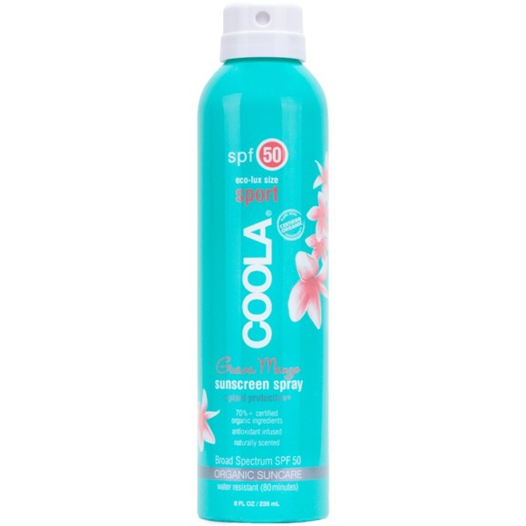 Coola - Sport Continuous Spray SPF50 Guava Mango 236 ml