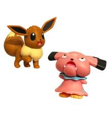 Pokemon - Figure Battle Pack - 5 cm - Snubull & Eevee