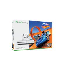 Xbox One S Console - 500 GB - Forza Horizon 3 Hot Wheels Bundle
