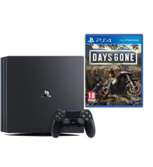 Playstation 4 Pro Console Black +   Days Gone (Soft Bundle)