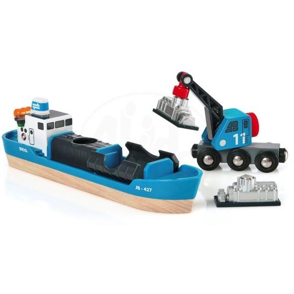 BRIO - Containerskip (33534)