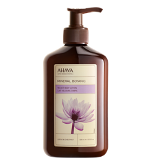 AHAVA - Mineral Body Lotion - Lotus & Chestnut 400 ml