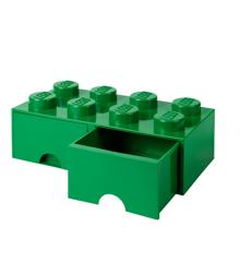 Room Copenhagen - LEGO Brick Skuffekasse 8 - Grøn