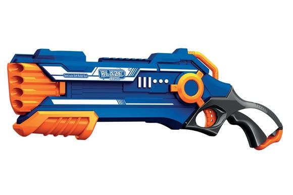 Manual Soft Bullet Gun - Inclusive 20 Darts (520302)
