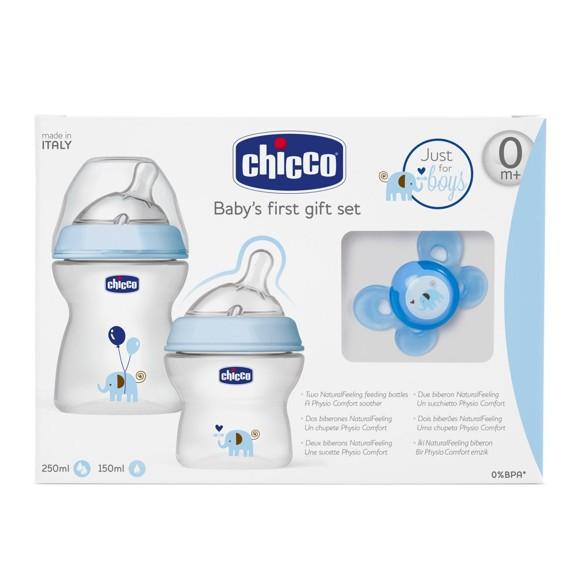 Chicco - Gavesæt - Sutteflasker
