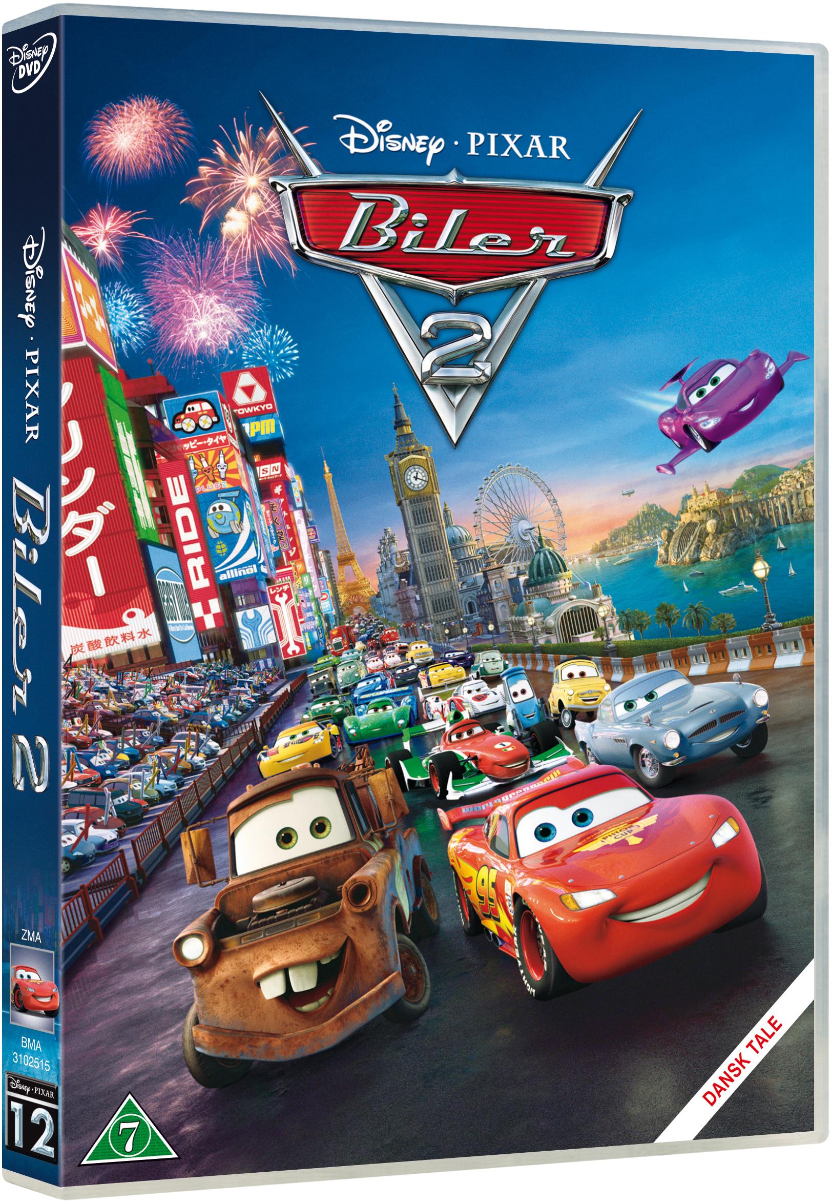 Biler 2 Pixar #12