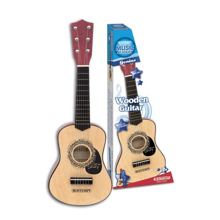 Bontempi - Wooden guitar, 55 cm (215530)
