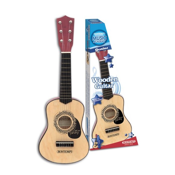 Bontempi - Wooden guitar, 55 cm (215530)