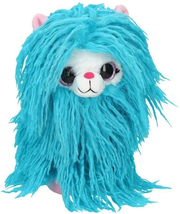 Snukis Plush - Olly the Alpaca - Blue - 21cm