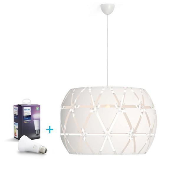 Philips - myLiving Suspension Light Sandalwood + Hue - Single bulb E27 Richer colors