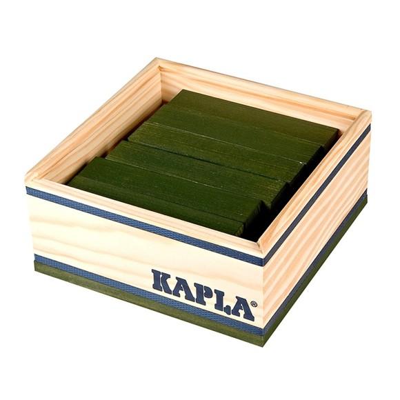 Kapla - Green bricks - 40 pc