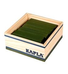 Kapla - Grüne Ziegelsteine - 40 Stück