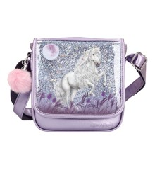 Miss Melody - Small Messenger Bag w/Glitter - Purple (0410772)