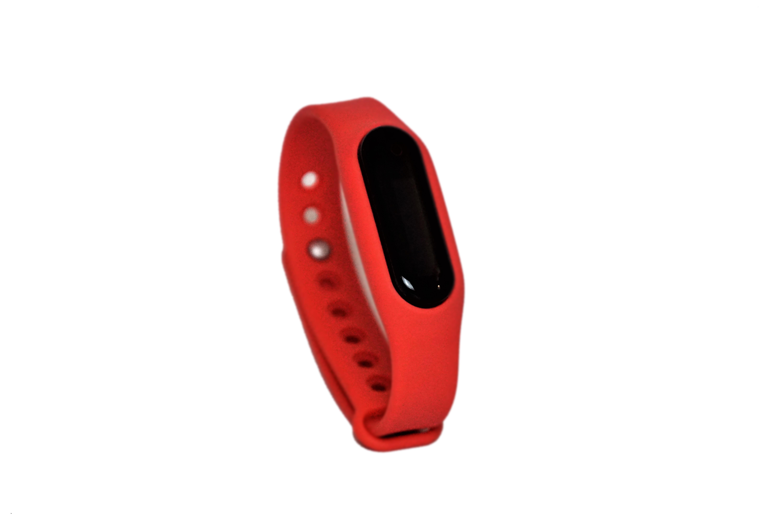 Go-tcha Wristband Red Strap