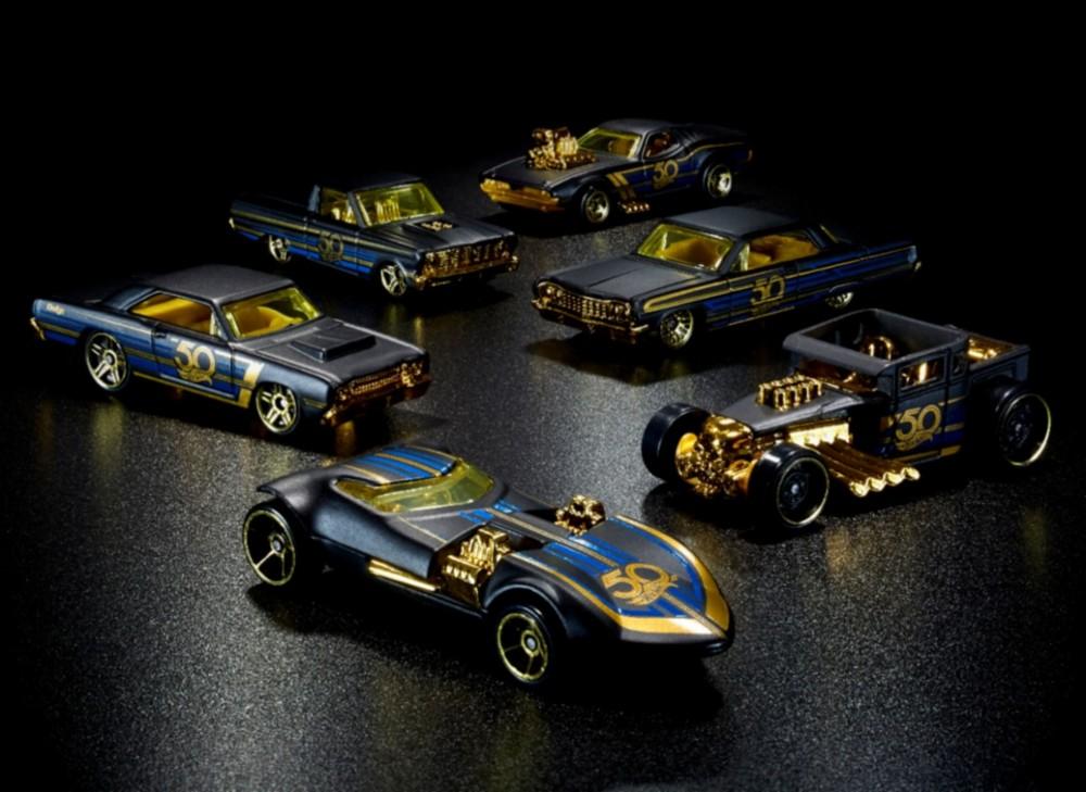 Hot Wheels 50th Anniversary Die-Cast Vehicle